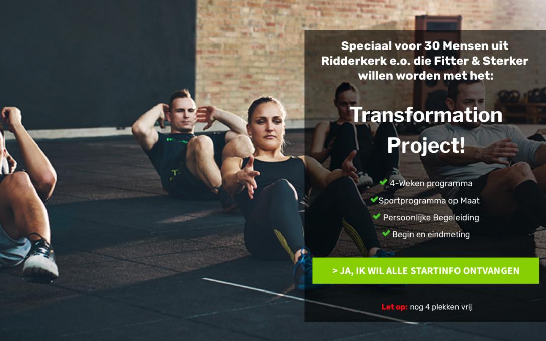 Het Transformation Project van O2 Fitness